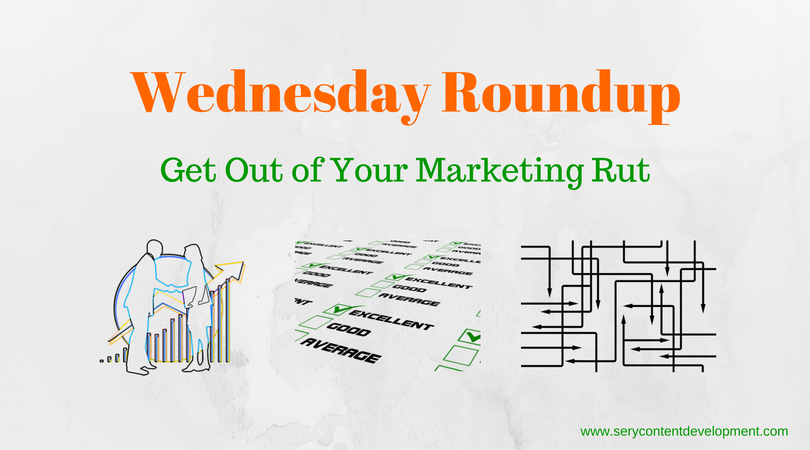 Wednesday Roundup Stuck in a Rut