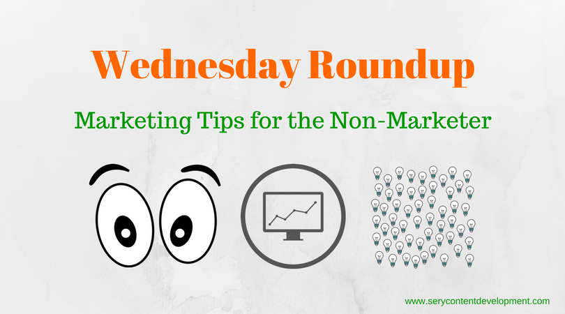 Marketing tips for the non marketer