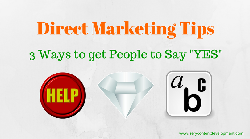 3 ways to get people to say Yes