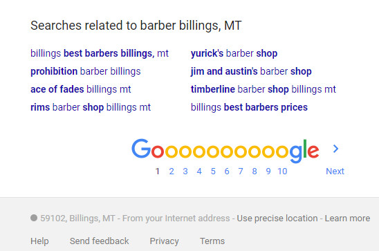 Latent Semantic Indexing how to rank better on Google in Billings