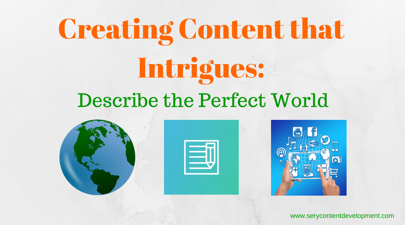 Creating Content that intrigues