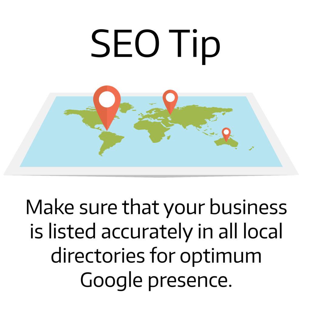 Local Directories listings are important for SEO