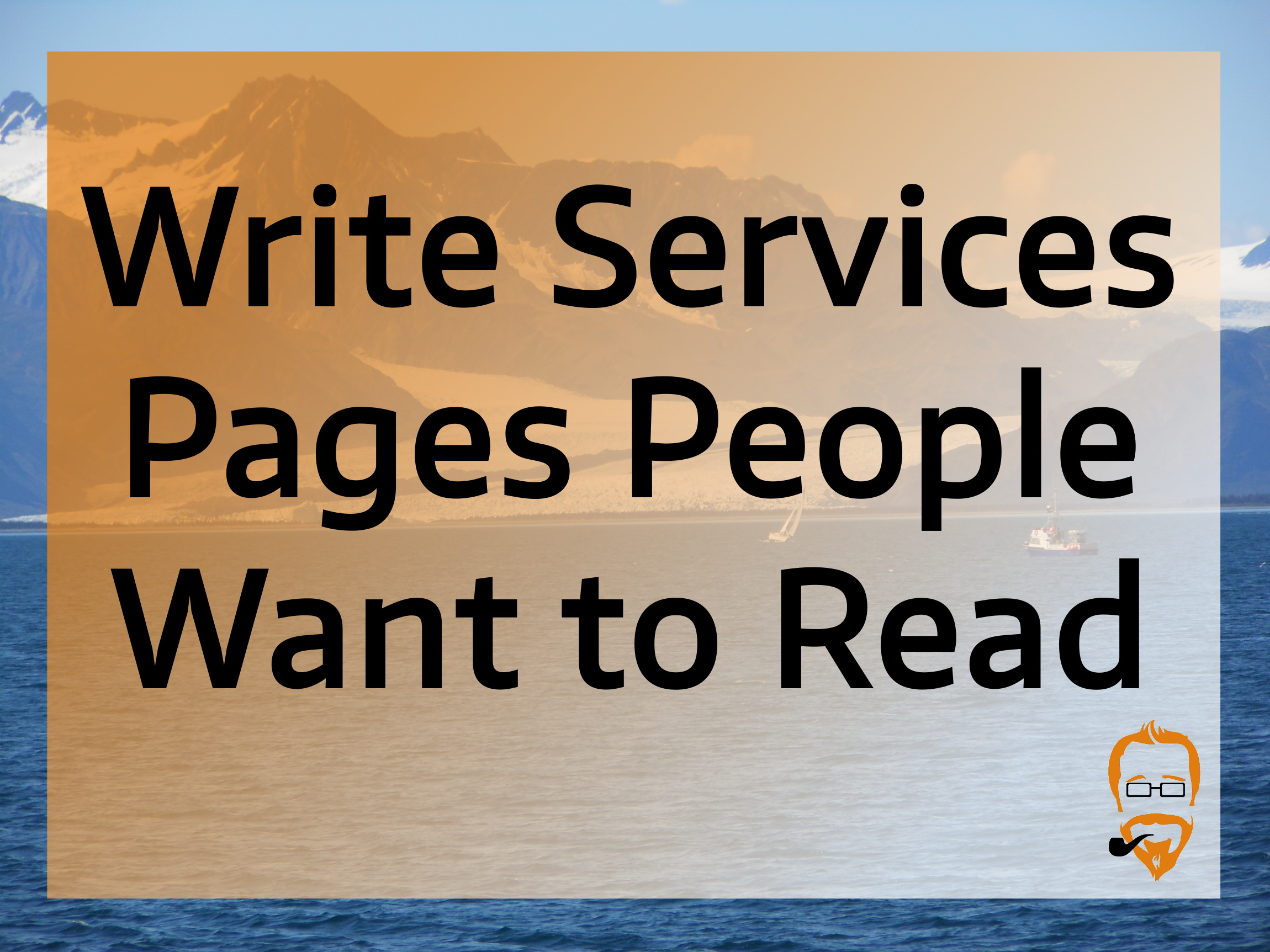 services pages from a copywriter